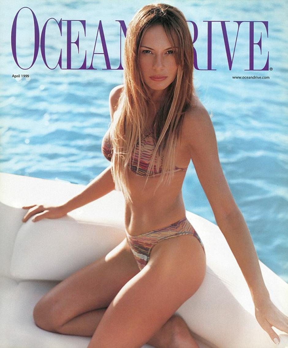 Las ediciones de varias revistas publicaron a Melania. (Foto: Melania Trump)