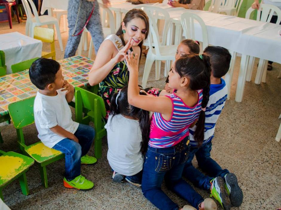 A Melanie le gustan las causas sociales. (Foto: Miss World Guatemala)