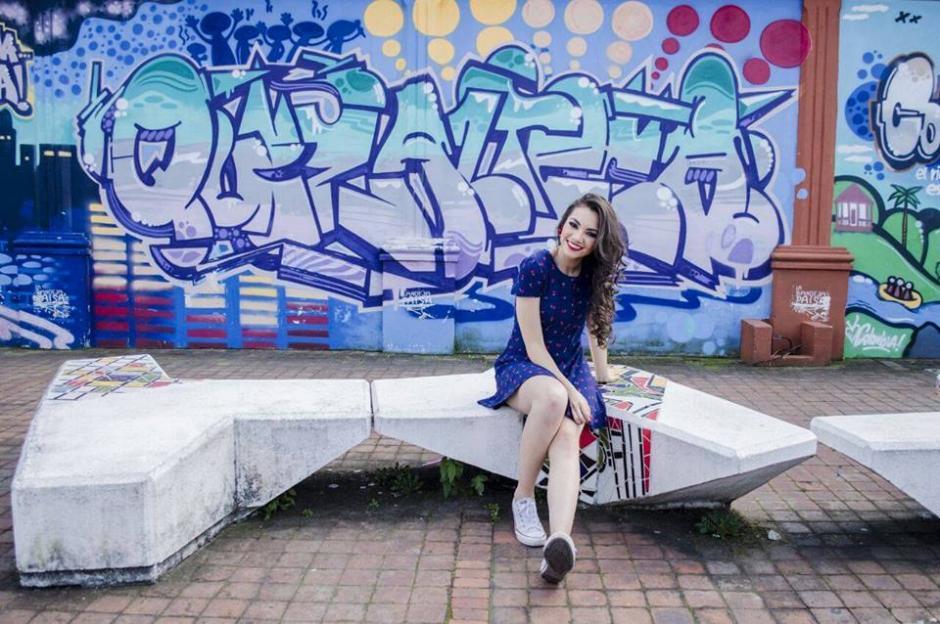 Melanie Espina es la joven que representa a Guatemala en Miss Mundo. (Foto: Miss World Guatemala)