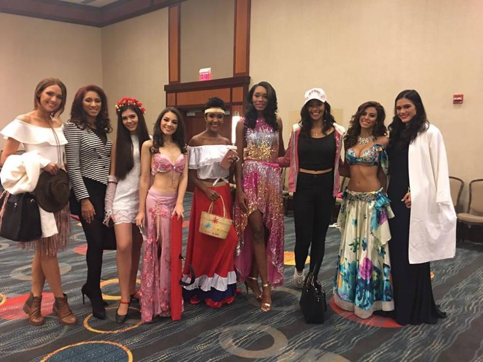 Hay un ambiente muy lindo entre todas las concursantes. (Foto: Miss World Guatemala)