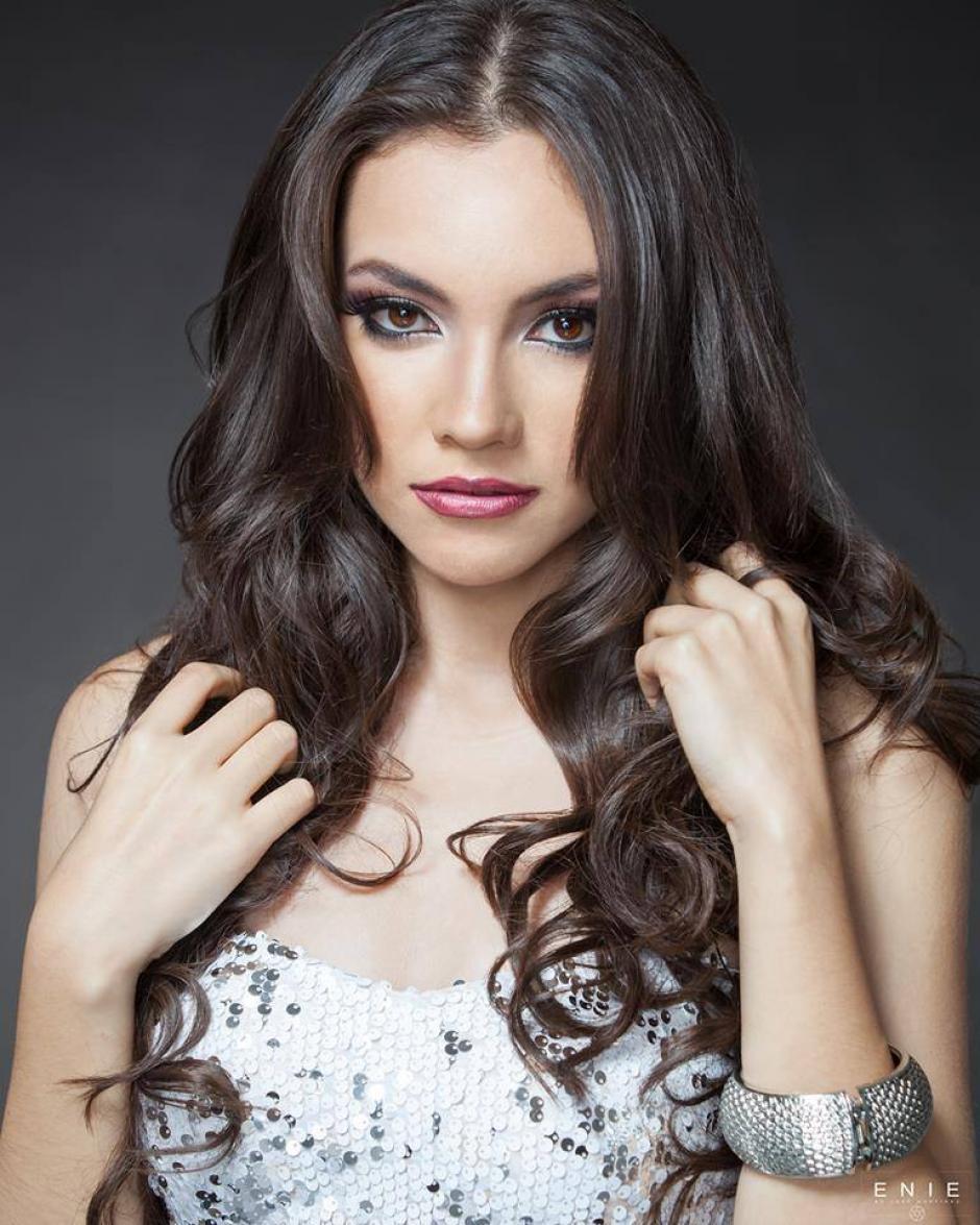 Espina como las otras chicas está siendo evaluada en estas actividades. (Foto: Miss World Guatemala)