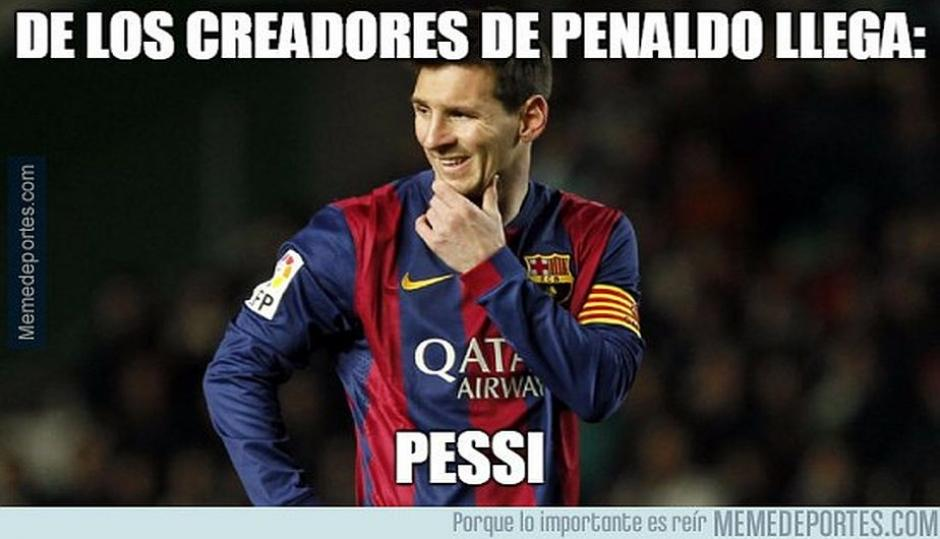 Los memes en las redes sociales hicieron de menos la victoria del cuadro catalán. (Foto: Memedeportes.com)