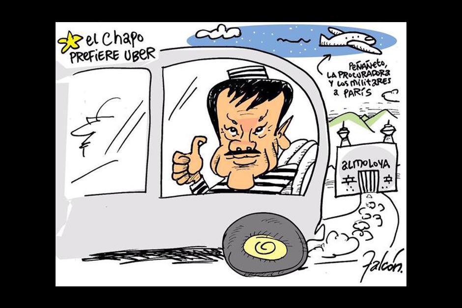 """La fuga de """"el Chapo"""" fue tomada con mucho humor por varios usuarios de las redes sociales."""
