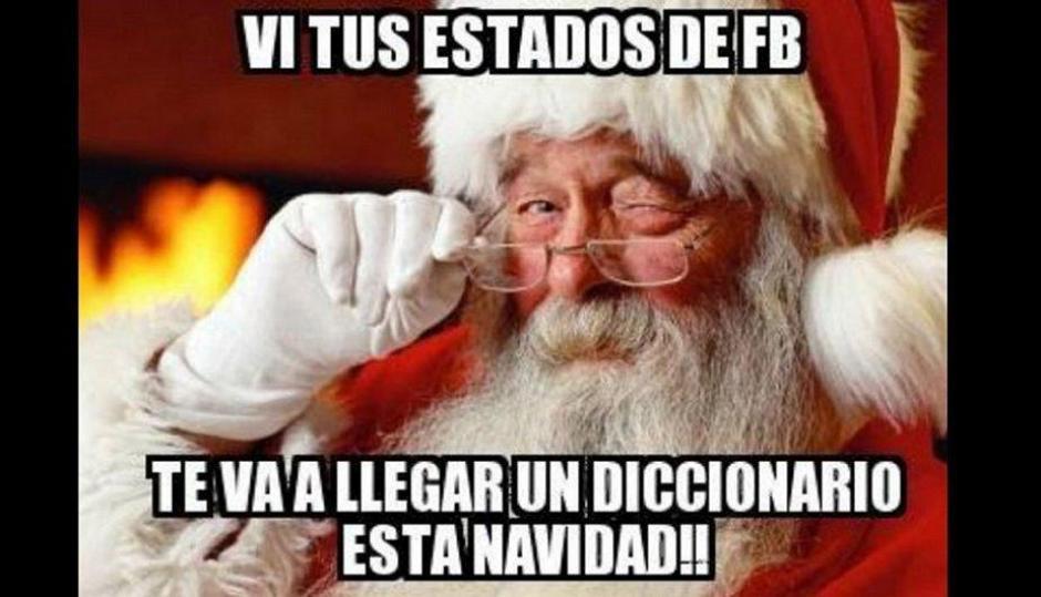 La mala ortografía que se emplea en las redes sociales fue satirizada. (Foto: peru.com)