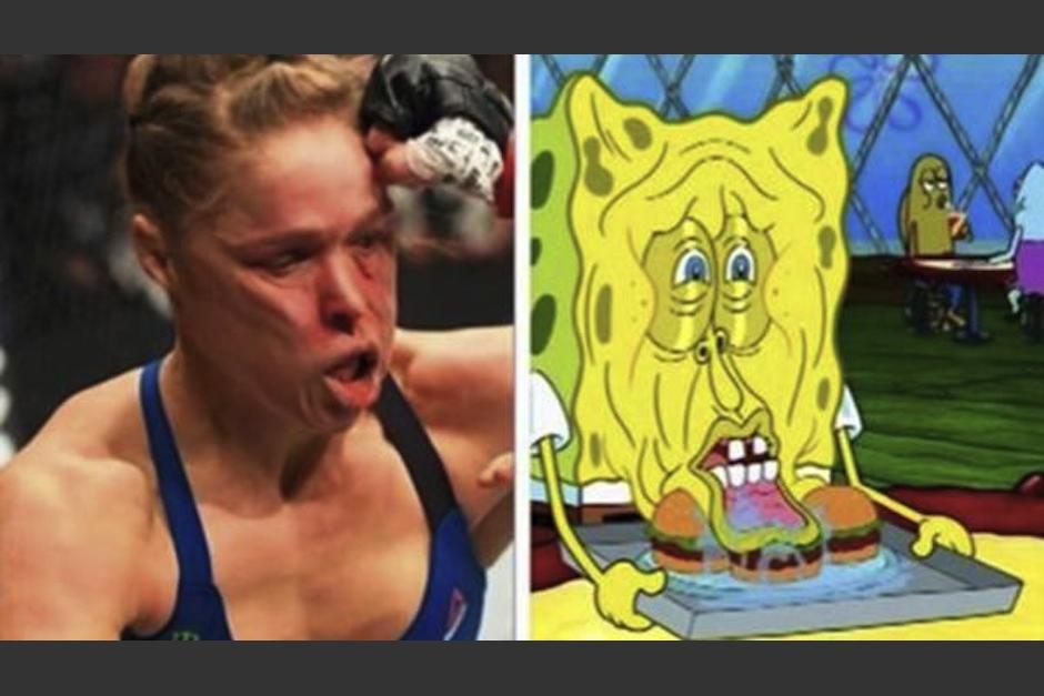 Los fanáticos de la UFC se burlaron con memes de la derrota de Ronda Rousey. (Foto: Infobae)