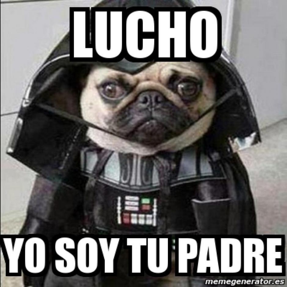 Lucho encontró a su verdadero padre y así lo supo. (Foto: Twitter)
