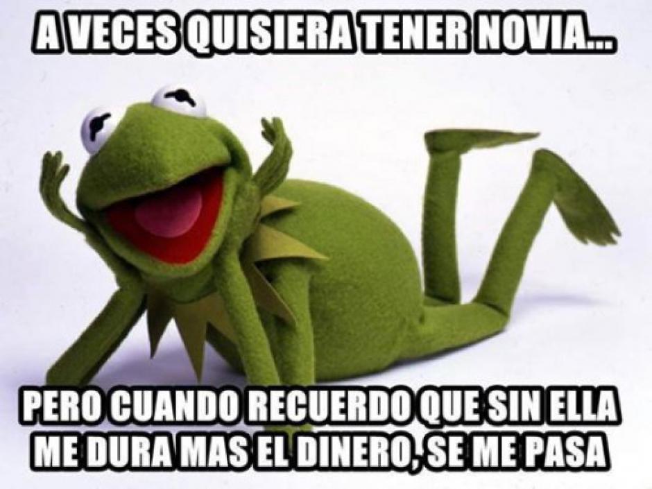"""La rana René es uno de los """"memes"""" más populares. (Foto: memeschistosos.net)"""