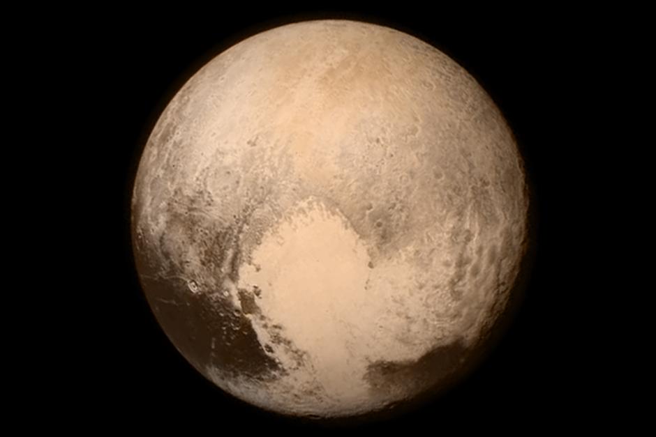 Esta es la primera imagen de Plutón que se ha tenido. (Foto: Internet)