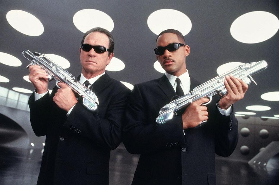 men in black/ Hombres de negro. (Foto: oficial)