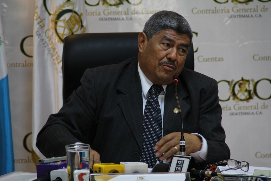 Carlos Mencos, contralor General de Cuentas, fue mencionado en el caso Cooptación del Estado. (Foto: Archivo/Soy502)