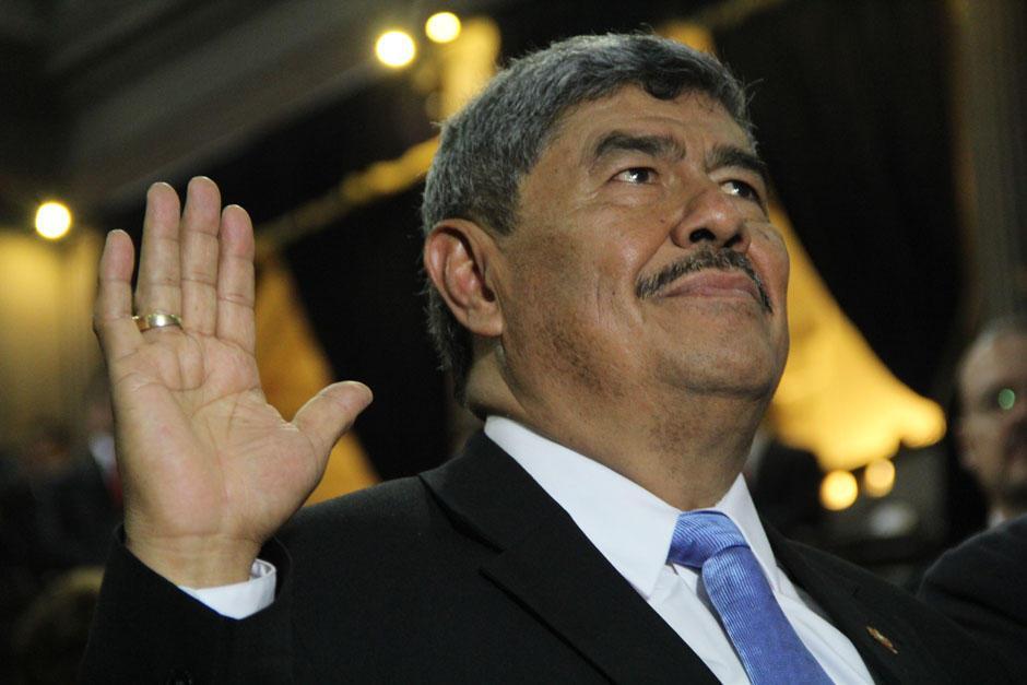 Mencos asumió la CGC en enero del 2015. (Foto: Archivo/Soy502)