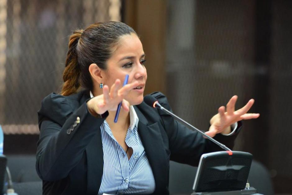 El Ministerio Público pidió formalmente ligar a proceso penal a Claudia Méndez en el caso La Línea. (Foto: Jesús Alfonso/Soy502)