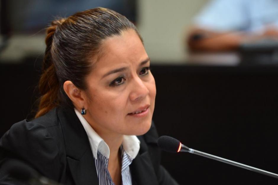 Claudia Méndez continuó su declaración que el viernes duró más de seis horas. (Foto: Jesús Alfonso/Soy502)