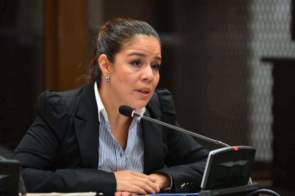 Claudia Méndez dijo que sabía de la corrupción en la SAT pero no de los sobornos. (Foto: Jesús Alfonso/Soy502)