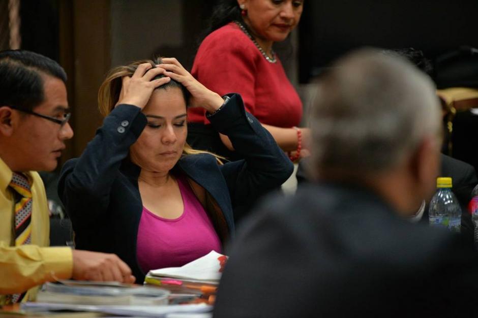 Durante la audiencia Méndez pidió explicaciones sobre el dinero recibido. (Foto: Wilder López/Soy502)