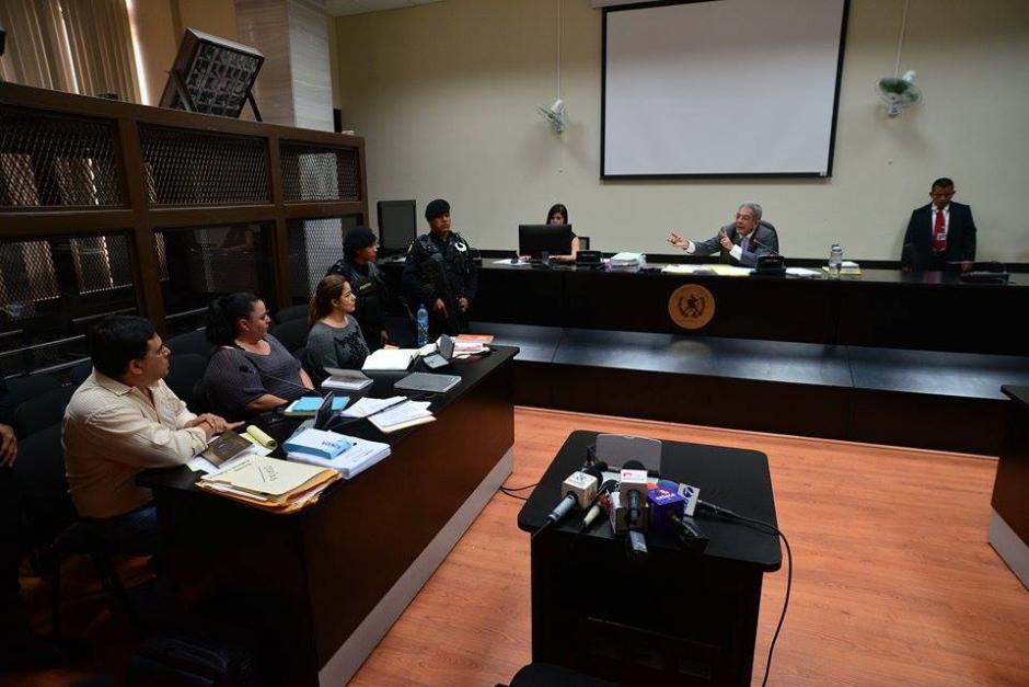 El juez de Mayor Riesgo B, Miguel Ángel Gálvez, dijo que el jueves será la audiencia de primera declaración. (Foto: Wilder López/Soy502)