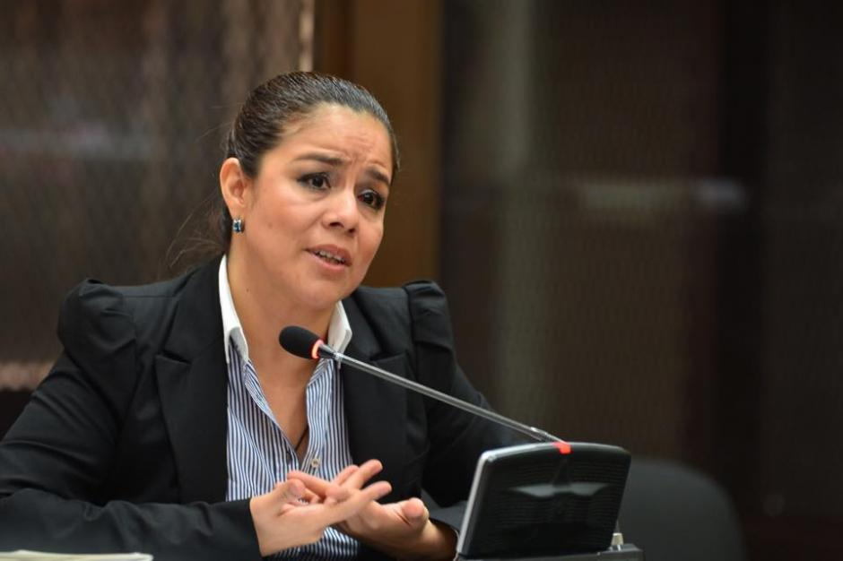 Claudia Méndez no respondió a algunas cuestionantes realizadas por la CICIG. (Foto: Jesús Alfonso/Soy502)