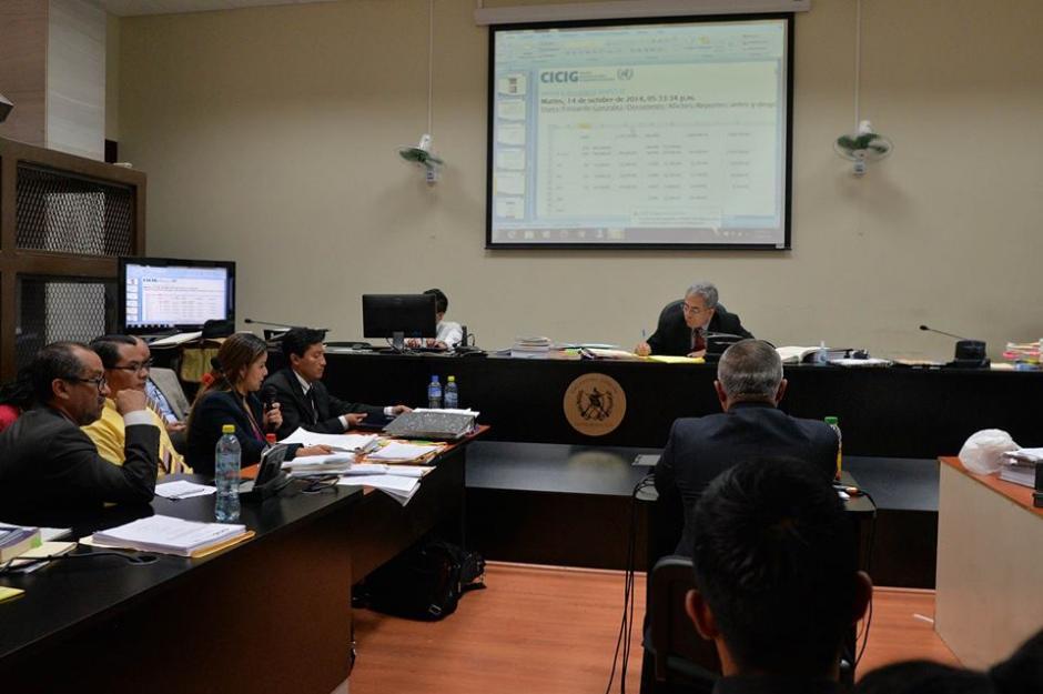 Esta es la sala de audiencias del Juzgado de Mayor Riesgo B. (Foto: Wilder López/Soy502)