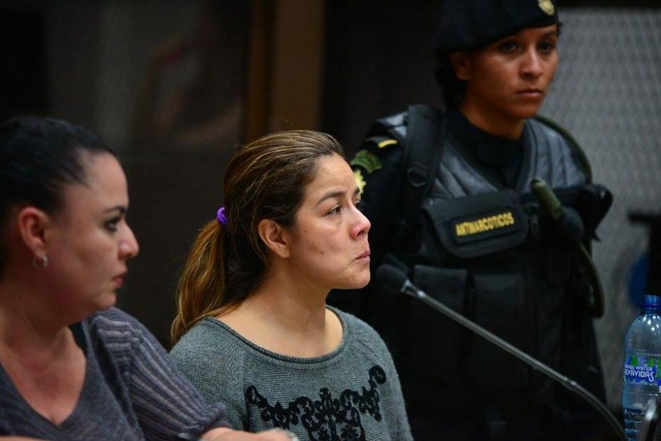Méndez escuchó los motivos de su detención frente al Juez de Mayor Riesgo B. (Foto: Wilder López/Soy502)