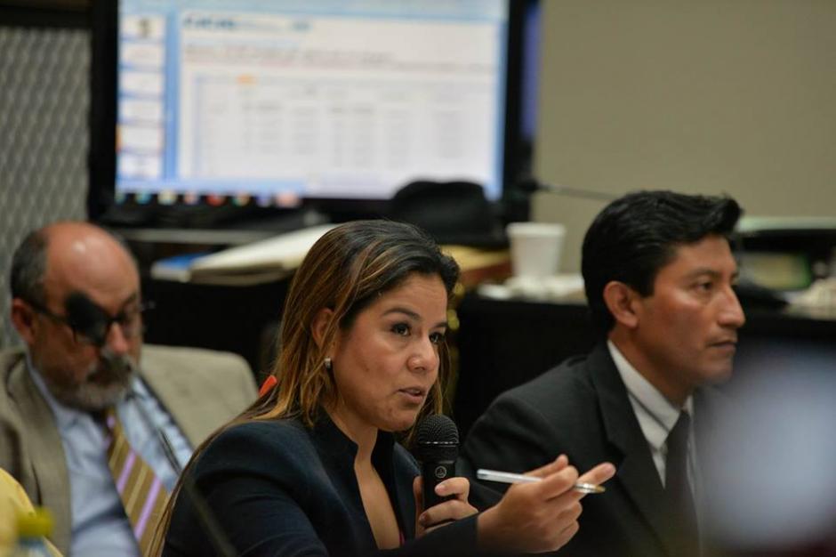 Claudia Méndez ejerció su derecho de defensa material en el caso La Línea. (Foto: Wilder López/Soy502)