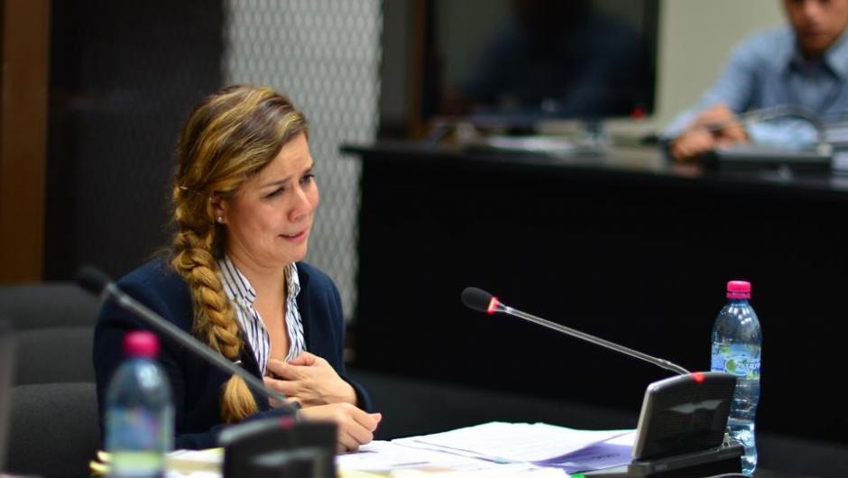 Claudia Méndez afirmó que fue utilizada por Otto Pérez y Roxana Baldetti cuando fueron mandatarios. (Foto: Jesús Alfonso/Soy502)