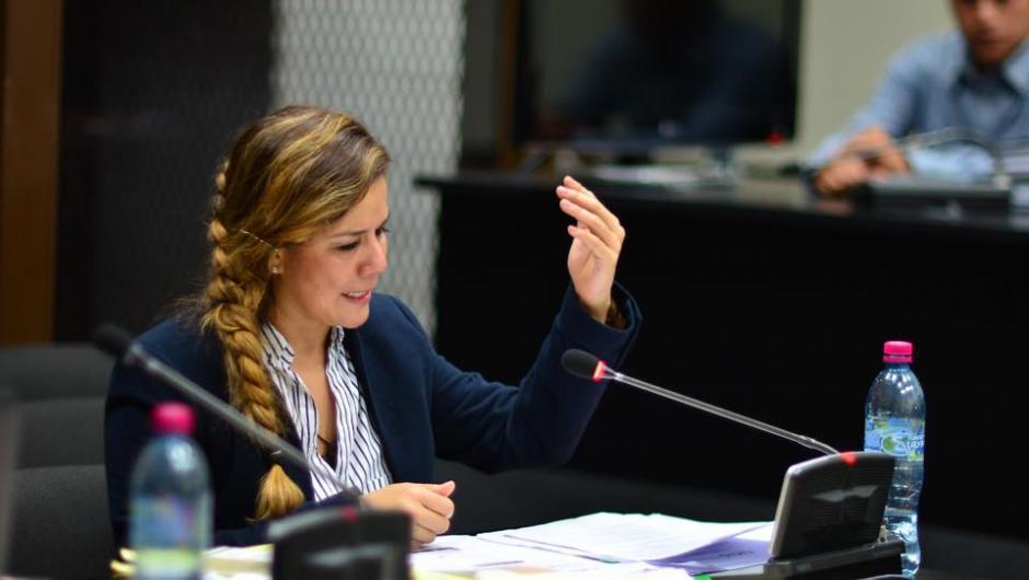 La ex intendente aduanera de la SAT está acusada de cohecho pasivo, asociación ilícita y caso especial de defraudación aduanera. (Foto: Jesús Alfonso/Soy502)
