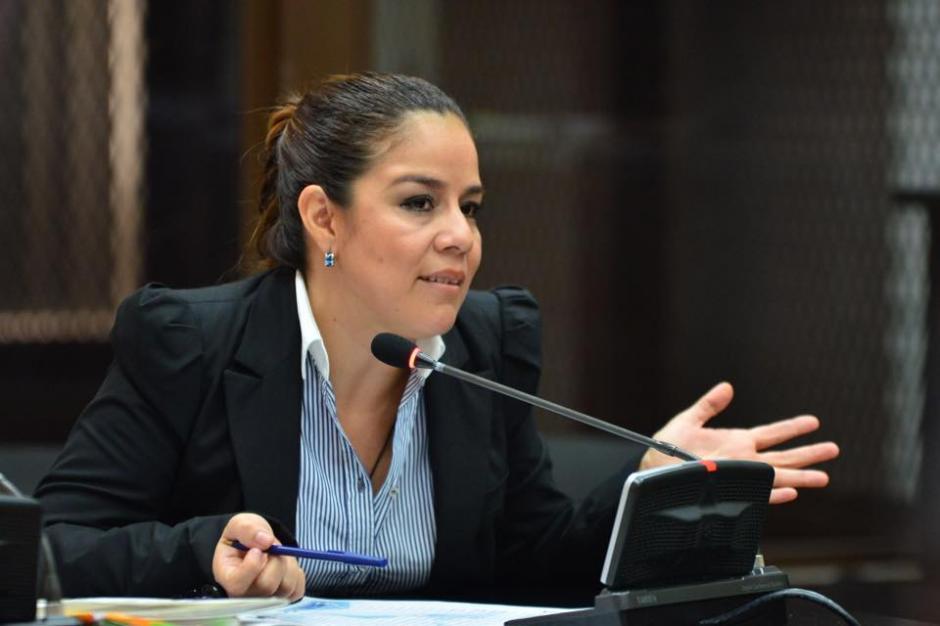 """La exfuncionaria dio más detalles sobre las reuniones de Salvador González alías """"Eco"""" en la Casa Presidencial. (Foto: jesús Alfonso/Soy502)"""