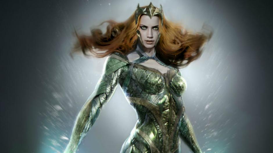 La bella  Amber Heard podría interpretar a Mera pero aún no está confirmado. (Imagen: nerdist.com)