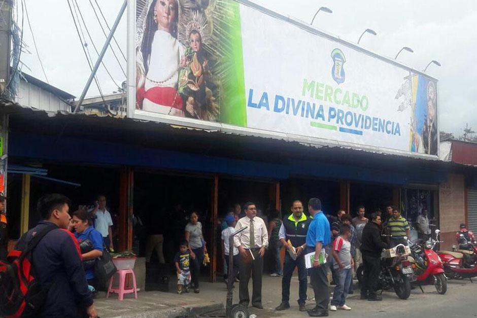 """Las autoridades informaron sobre la captura de """"El Fanto"""", quien se presume dirigía extorsiones en el mercado de Mixco. (Foto: Archivo/Soy502)"""
