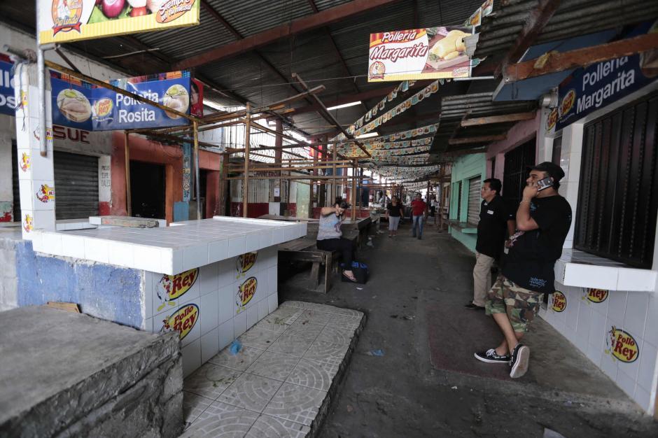 Desde hace varias semanas los comerciantes del mercado de Jocotales son amenazados. (Foto: Manuel Castillo/Nuestro Diario)