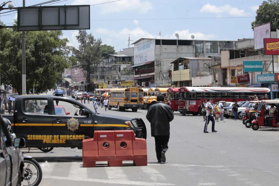 La PNC reforzó la seguridad en Jocotales zona 6 capitalina. (Foto: Manuel Castillo/Nuestro Diario)