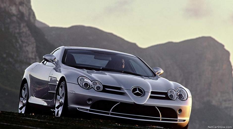 Si se trata de potencia, este Mercedes-Benz SLR McLaren está en uno de los puestos más altos de la lista. (Foto: Mercedes-Benz)