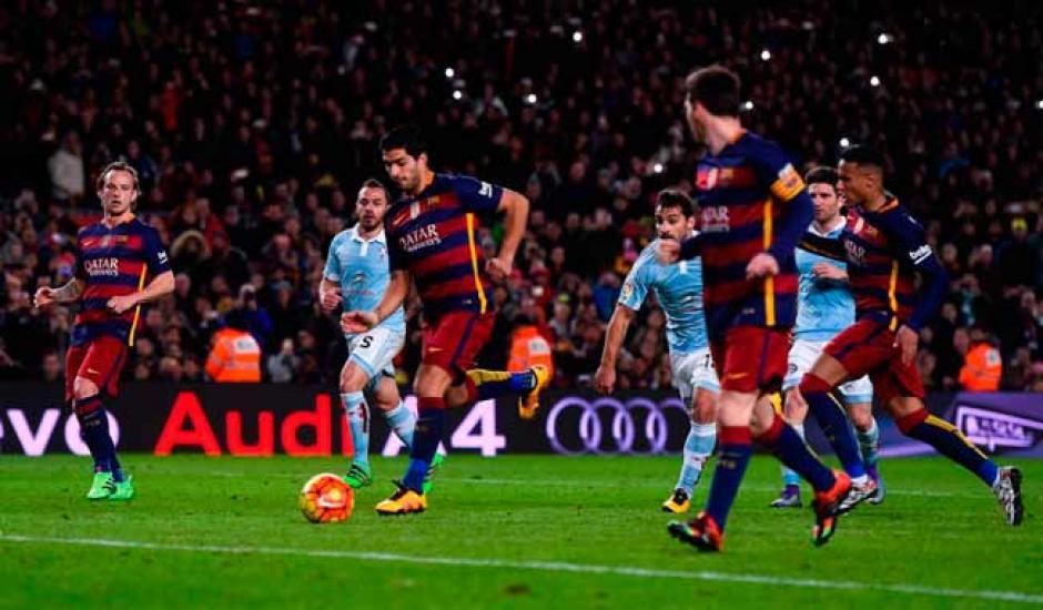 Luis Suárez reveló que su adelantamiento causó cierto malestar en Neymar, para quien era el pase originalmente. (Foto: Meridiano)