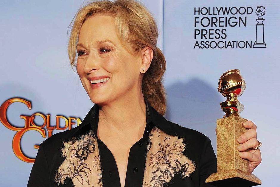 La actriz Meryl Streep y Barbara Streisand llevan el mayor record de globos de oro recibidos. (Foto: Stuff)