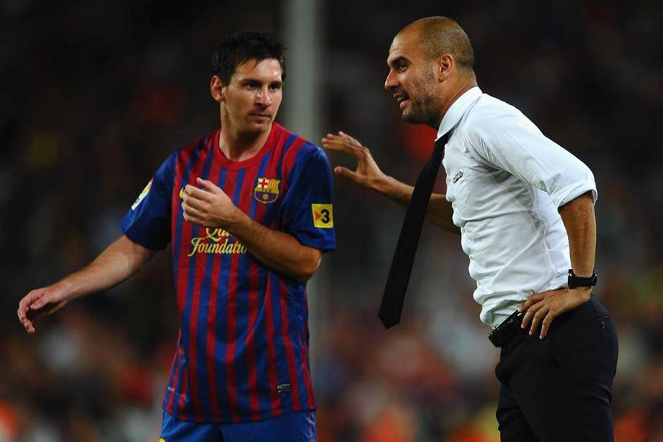 Guardiola se quejó de la presión mediática que generaban sobre él las estrellas del Barcelona