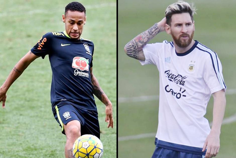 Dos amigos se verán las caras en Brasil. (Foto: AFP)