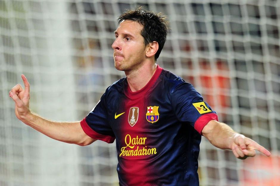 Lionel Messi encabeza la lista de delanteros latinos nominados al once ideal de la FIFA 2013. (Foto: EFE)