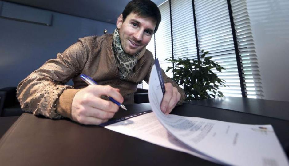 La dirigencia de Barcelona buscará lo más rápido posible renovar a Messi. (Foto: Agencias)