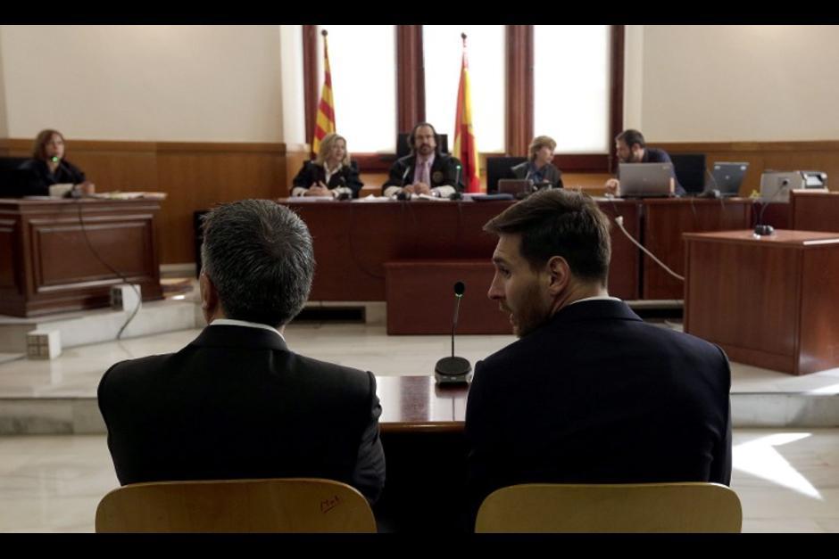 Sin embargo, los Messi podrían evitar la prisión, (Foto: AFP)