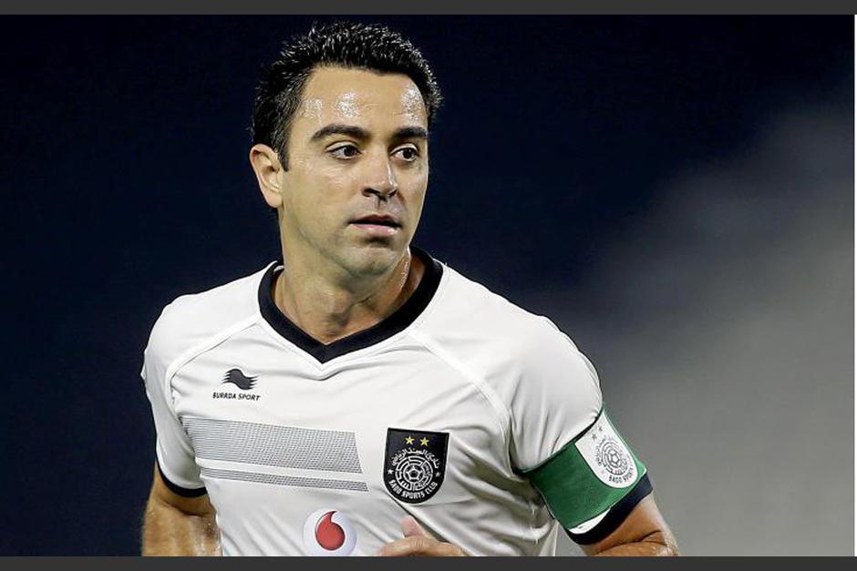 Xavi Hernández milita actualmente en el Al-Sadd de Catár. (Foto: marca.com)