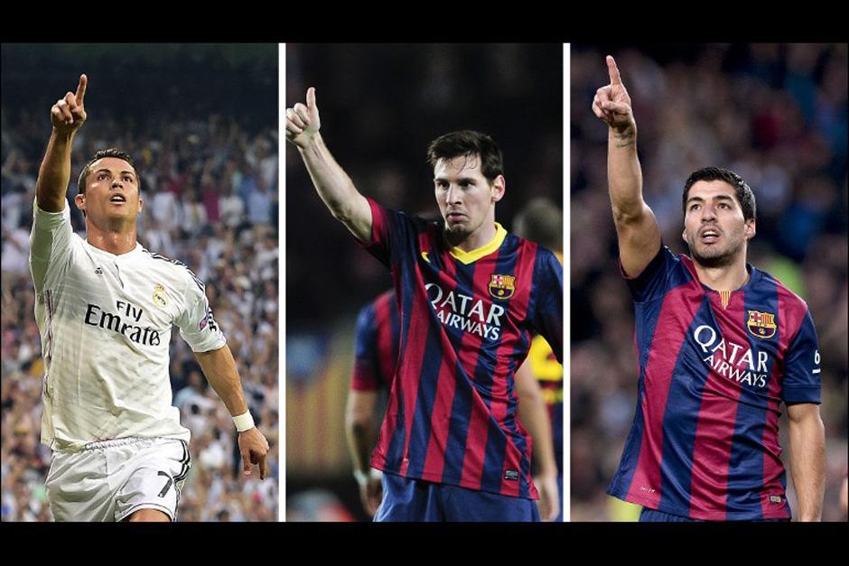 Messi, Cristiano Ronaldo y Luis Suárez luchan por quedarse con el puesto de Mejor Jugador de Europa de la UEFA