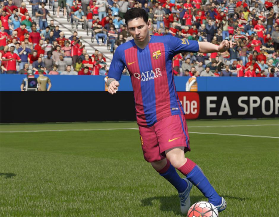 Messi es el principal jugador en PES 2017, la competencia de FIFA 17. (Foto: fifplay.com)