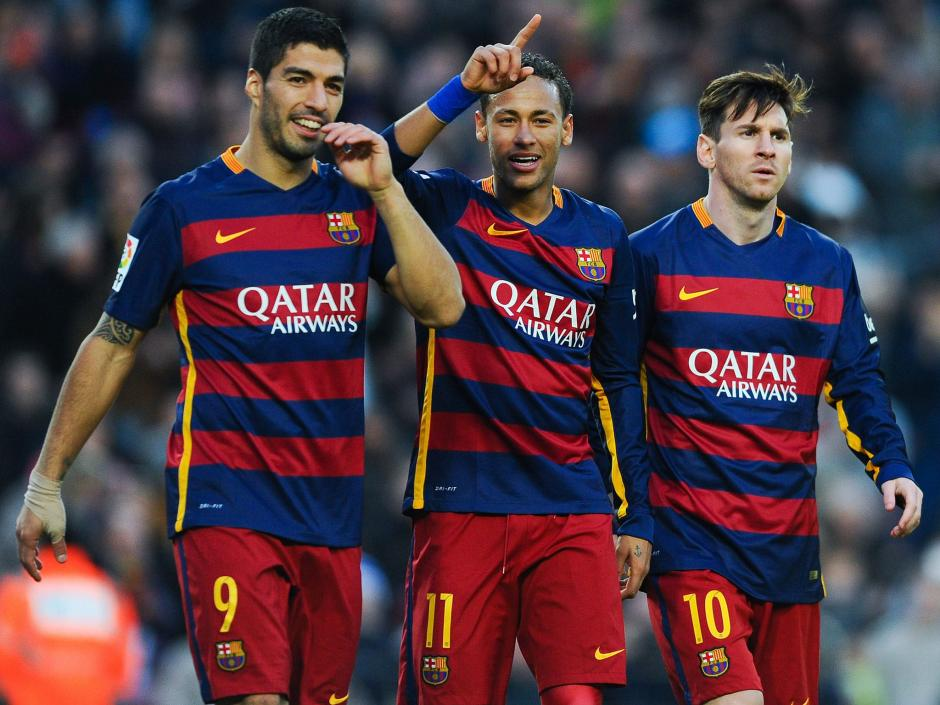 El MSN ha roto varias defensas en la actual temporada. (Foto: The Independent)