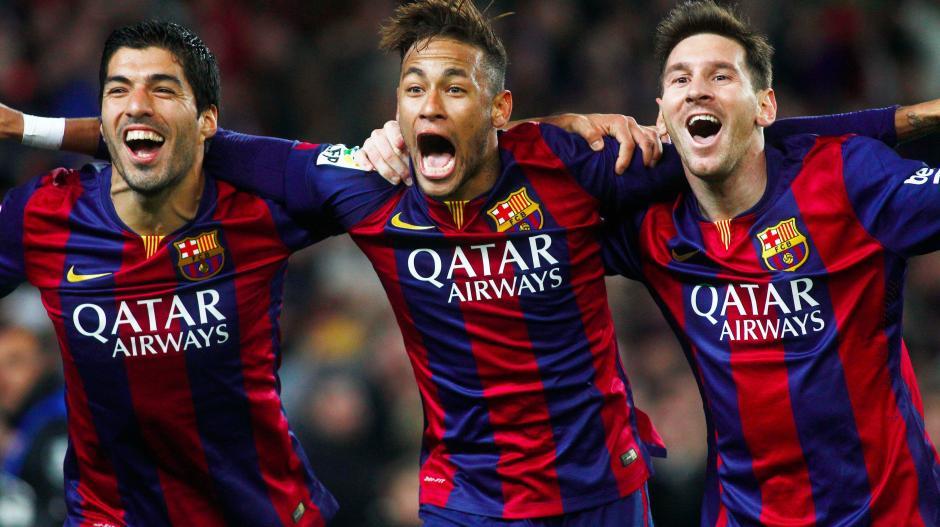 El tridente ofensivo del Barcelona es el más efectivo en la actualidad. (Foto: ITV.com)