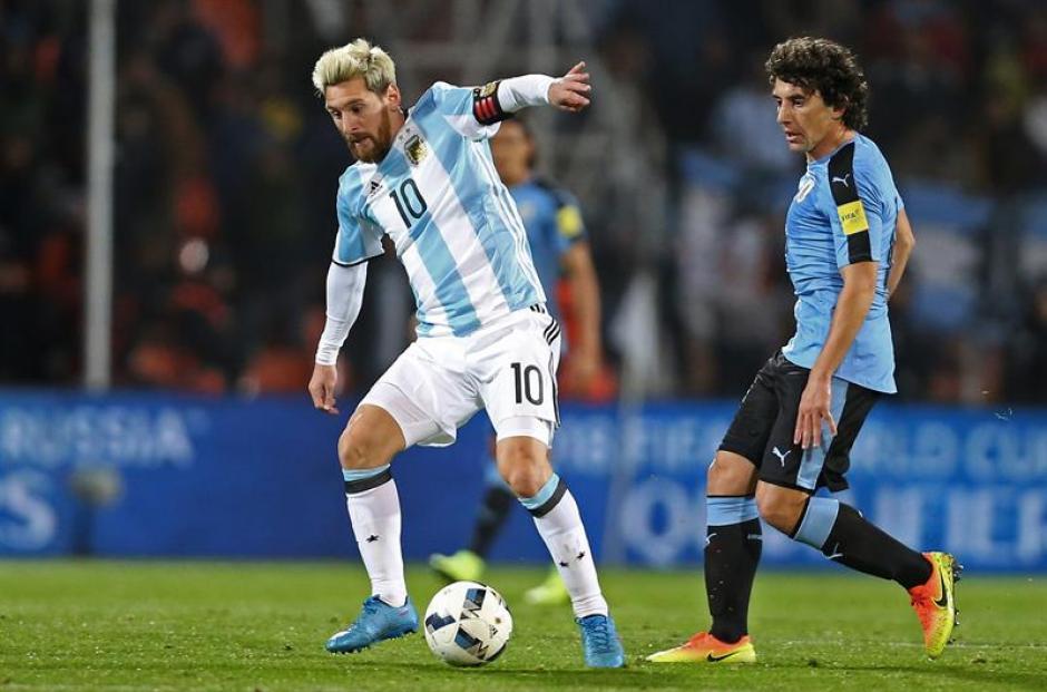 Messi regresó a la selección argentina. (Foto: EFE)
