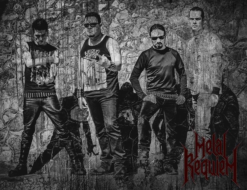 La Banda Metal Requiem abrirá el concierto para los guatemaltecos. (Foto: Metal Requiem)