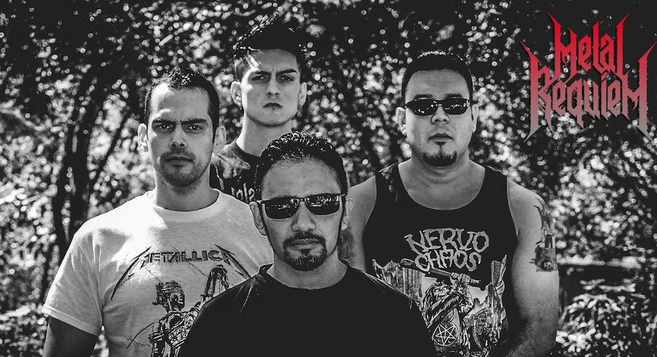 Metal Requiem realizará una gira por México. (Foto: Metal Requiem)