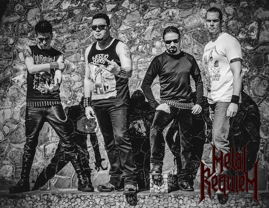 La banda compartirá su metal en el país vecino. (Foto: Metal Requiem)