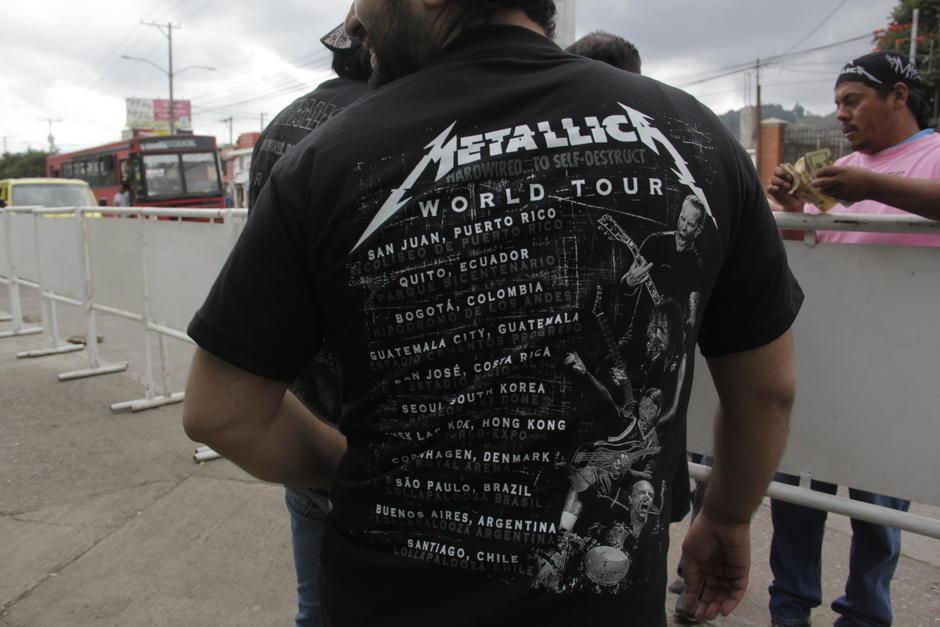 La banda estadounidense se presenta este jueves 3 de noviembre en Guatemala. (Foto: Fredy Hernández/Soy502)