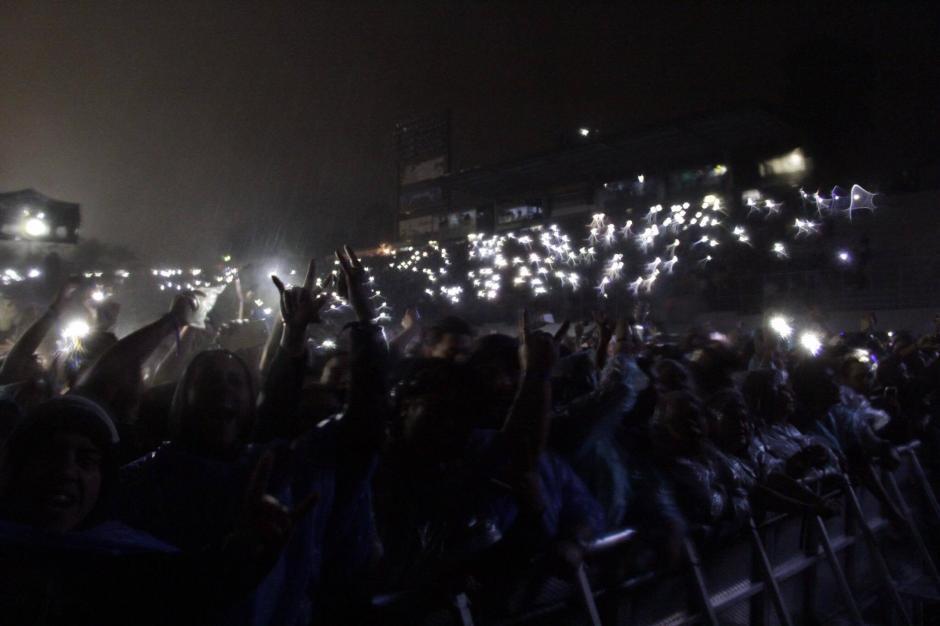 La banda se presentó por segunda vez en Guatemala. (Foto: Fredy Hernández/Soy502)